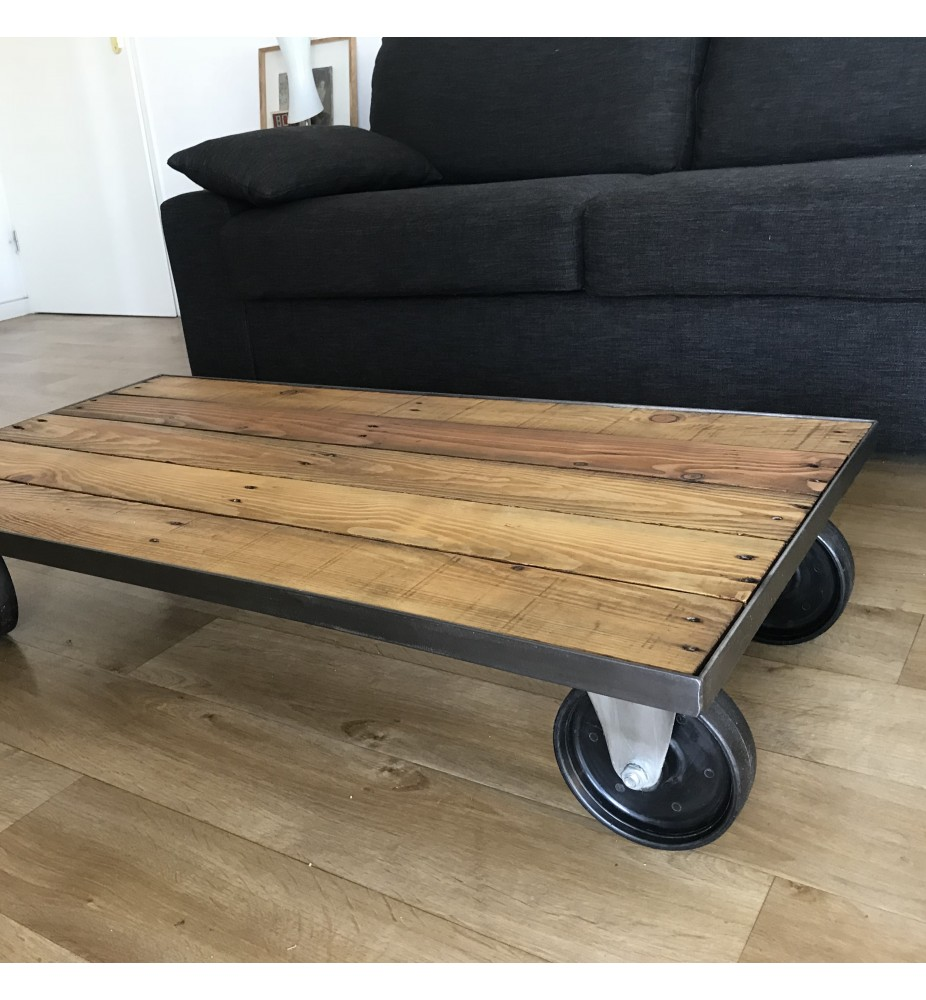 Table basse industrielle 2